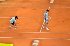 Novak Djokovic at the ATP Mutua Open Madrid Stock Photography