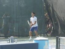Novak Djokovic am Coupé Rogers Cup - Montreal Kanada Lizenzfreie Stockbilder