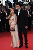 Novak Djokovic and Jelena Ristic Stock Image