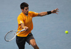 Novak DJOKOVIC (SRB) at BNP Masters 2009 Stock Image