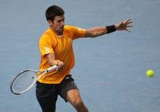 Novak DJOKOVIC (SRB) at BNP Masters 2009 Stock Image