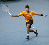 Novak DJOKOVIC (SRB) at BNP Masters 2009 Stock Photography