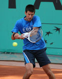 Novak DJOKOVIC (SRB) at Roland Garros 2010 Stock Image
