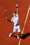 Novak Djokovic (SRB) at Roland Garros 2011 Stock Photos