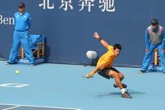 Novak Djokovic sur la Chine ouverte Images stock