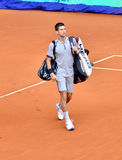 Novak Djovovic at the ATP Mutua Open Madrid Stock Images