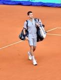 Novak Djovovic przy ATP Mutua Otwarty Madryt Obrazy Stock
