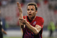 Novak Martinovic - Steaua Bucharest reaction Royalty Free Stock Photos