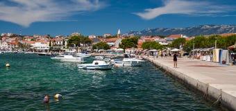 Novalja in Croatia Stock Photography