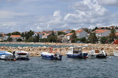 Novalja, Pag, Croatia Royalty Free Stock Photography