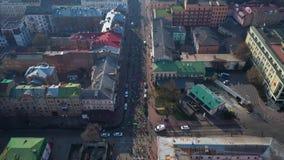 NovaposhtaKyiv halv maraton flyg- sikt lager videofilmer