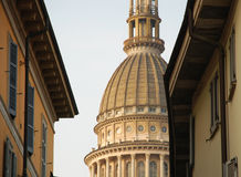 Novara, Italy. Antonelli cupola. Royalty Free Stock Photo