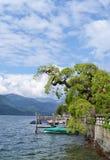 novara lago δ Ιταλία orta Στοκ Φωτογραφία