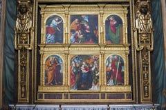 Novara: Poliptyk Zdjęcie Royalty Free
