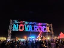 NovaRock wejście zdjęcia stock