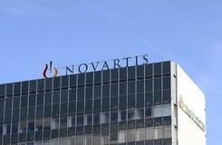 Novartis/логотип Стоковое Изображение