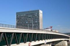 Novartis högkvarter i Basel, Schweitz Royaltyfria Bilder