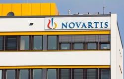 Novartis. Marburg, Germany - July 6, 2013: Office of Swiss multinational pharmaceutical company Novartis AG Stock Photography