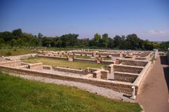 Novas de la ciudad antigua - Svishtov Imagen de archivo libre de regalías