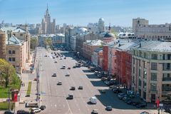 Novaya square Royalty Free Stock Image