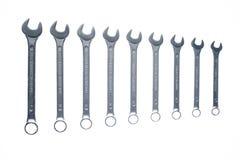 Nove chaves Imagens de Stock