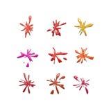 Nove espirram Imagem de Stock Royalty Free