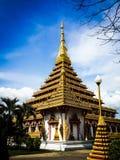 Nove história Stupa Imagens de Stock Royalty Free