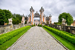Nove Hrady palace, Czech Republic Stock Photo