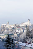 Nove Mesto nad Metuji. In winter, Czech Republic Royalty Free Stock Photography