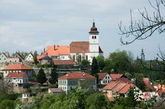 Nove Mesto NAD Metuji, République Tchèque images libres de droits