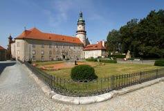 Nove Mesto nad Metuji slott royaltyfri bild