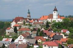 Nove Mesto nad Metuji, Tjeckien arkivfoton