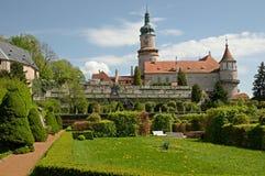 Nove Mesto nad Metuji, Tjeckien Arkivbild