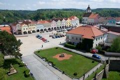 Nove Mesto nad Metuji, Tjeckien Arkivbilder