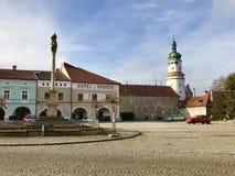 Nove Mesto nad Metuji, Tschechische Republik, Europa Lizenzfreies Stockfoto