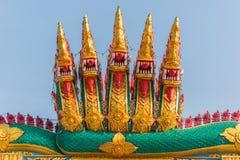 Nove Naga das cabeças Imagens de Stock Royalty Free