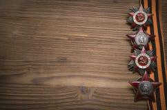 9 nove podem fundo do conceito do dia da vitória com espaço da cópia Foto de Stock Royalty Free