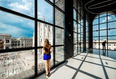Novecento博物馆在米兰 库存图片