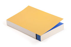 Novel book - clipping path Royalty Free Stock Photography