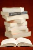 Novel Stack Stock Image