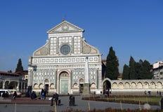 Novella di Santa Maria dei Di della basilica, Firenze, Italia Immagine Stock Libera da Diritti