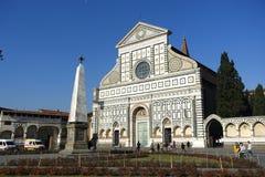 Novella di Santa Maria dei Di della basilica, Firenze, Italia Fotografia Stock