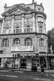 Novello teater i London - mamman Mia Musical - LONDON - STORBRITANNIEN - SEPTEMBER 19, 2016 Arkivbild