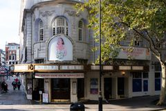 Novello Theatre Aldwych royalty free stock images