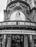 Novello Theatre w Londyn 19, 2016 - Mamma Mia musical - LONDYN WIELKI BRYTANIA, WRZESIEŃ - Fotografia Stock