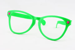 Novelty Glasses. A pair of large toy glasses without lenses Stock Photography