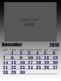 November 2010 Stock Image