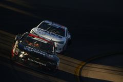 NASCAR: November 10 Whelen Trusted to Perform 200. November 10, 2018 - Avondale, Arizona, USA: Jeremy Clements 51 brings his car through the turns during the stock images