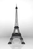 13 November 2015 begrepp Eiffeltorn 3d Stock Illustrationer