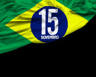November 15, Brazil Proclamation of the Republic Royalty Free Stock Photography
